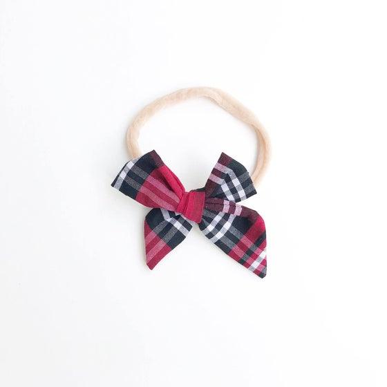 Image of Christmas Plaid Headband