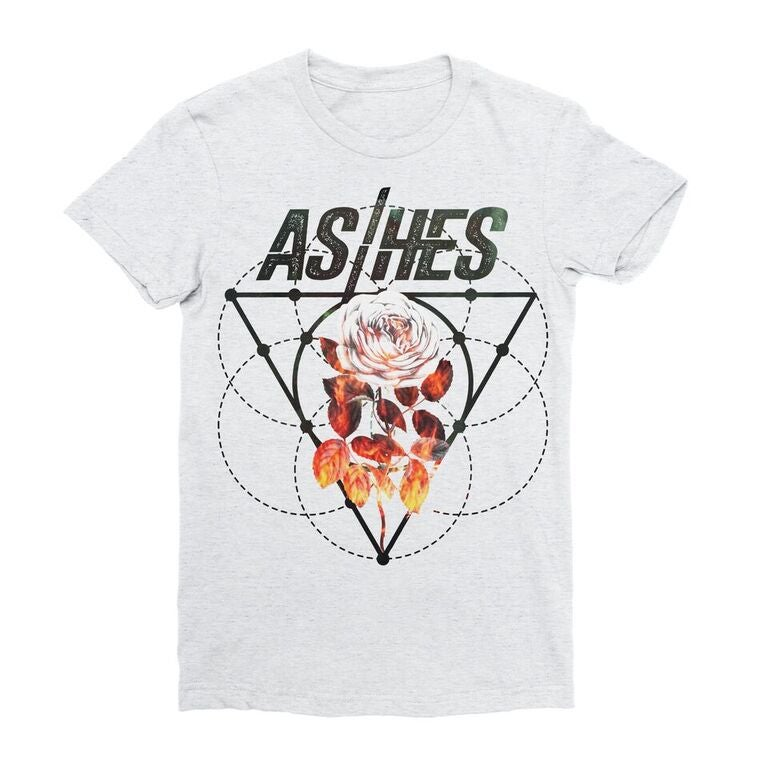 Image of ASHES Fire Rose Tee