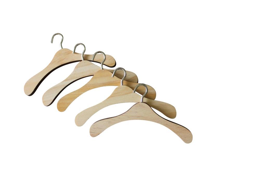 Image of Wooden Hangers