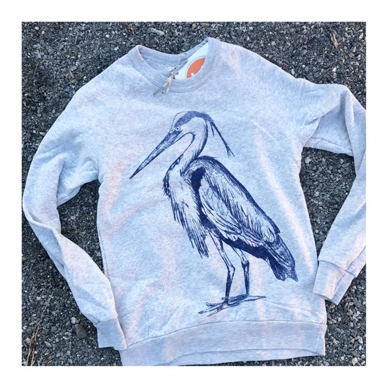 Image of Adult Blue Heron Sweatshirt
