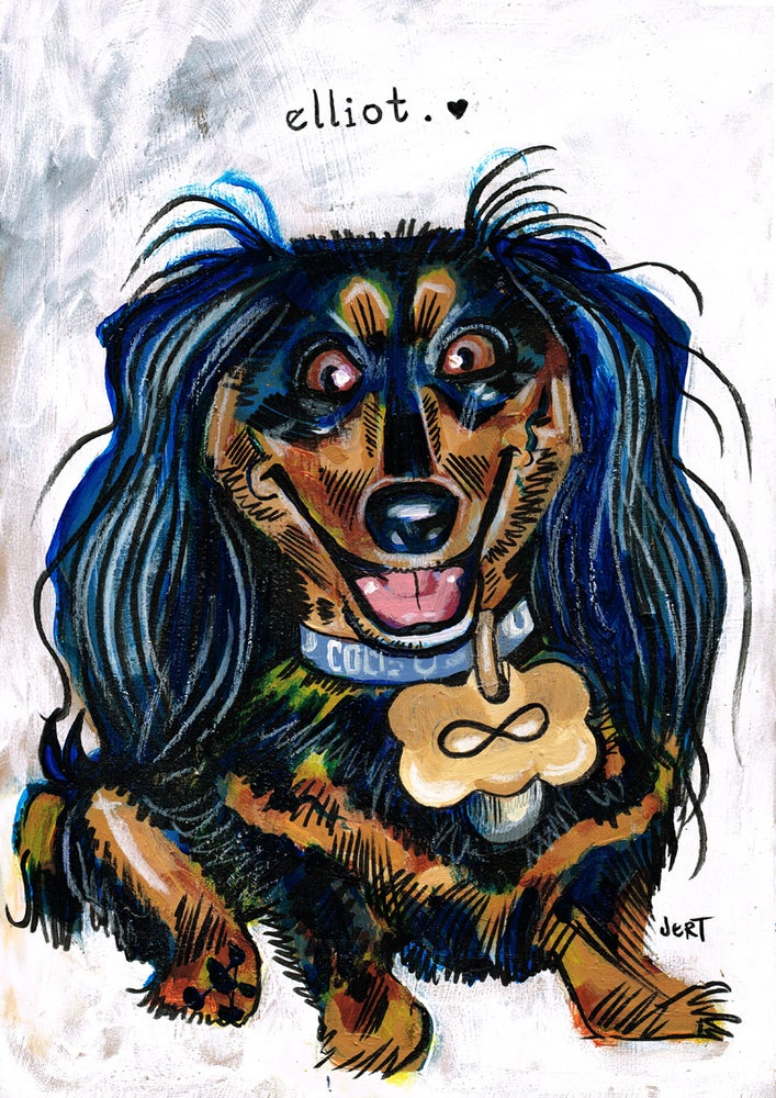 Image of CUSTOM JERT PAINTED PET COMMISSION-from photos
