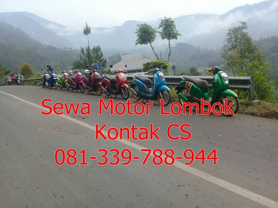 Image of Sewa Motor Lombok Terjamin Murah 081-339-788-944