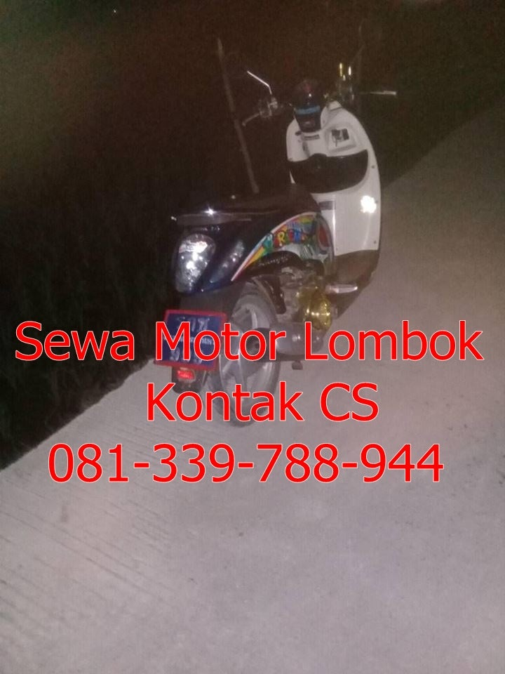 Image of Harga Dan Biaya Sewa Motor Di Lombok