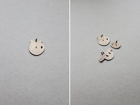 Image of FACES PENDANTS