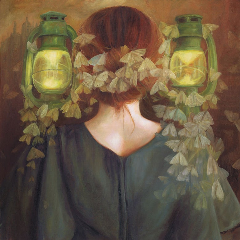 Image of 'The Moth Queen' by Nom Kinnear King