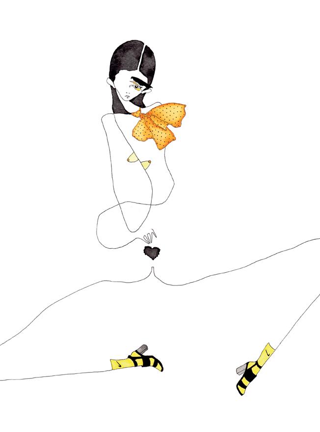 Image of Yellow Nudity