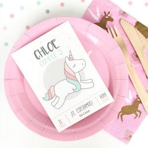 Image of Party Kit Girl Unicorn