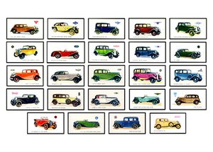 Image of VINTAGE CARS
