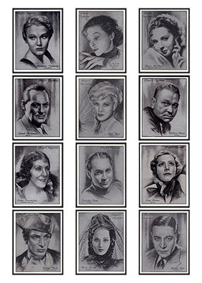 Image of STARS OF THE SILVER SCREEN