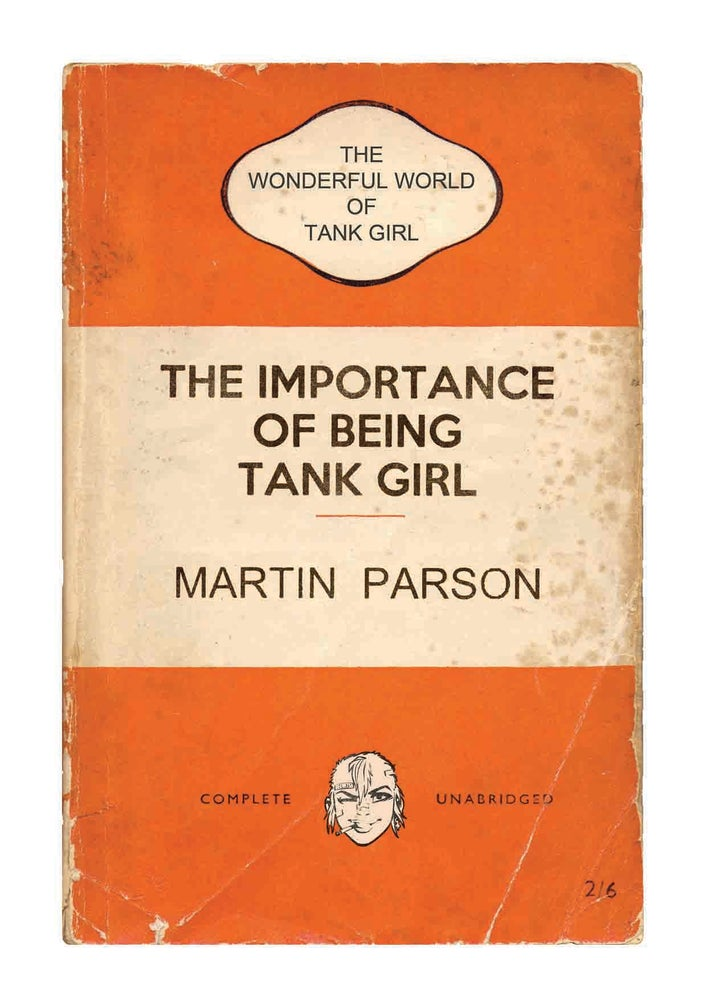 Image of Wonderful World of Tank Girl Poster Magazine (with Target Patch!)