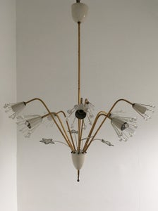 Image of Chandelier attributed to Emil Stejnar