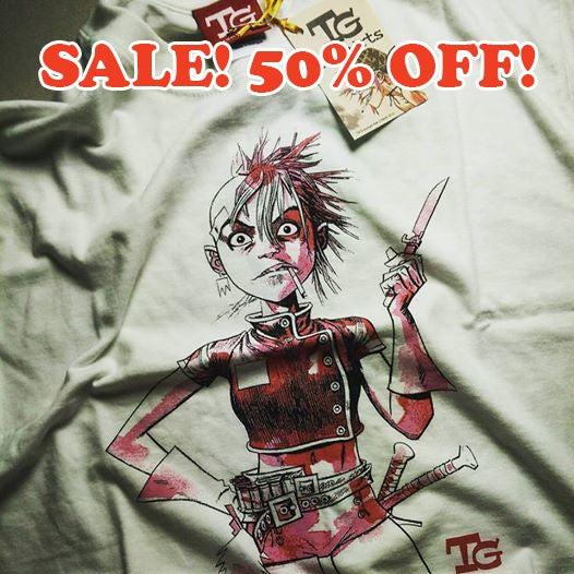 Image of SALE! Tank Girl Rising T-Shirt