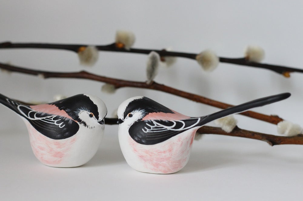 Image of Custom Wedding Cake Topper Birds
