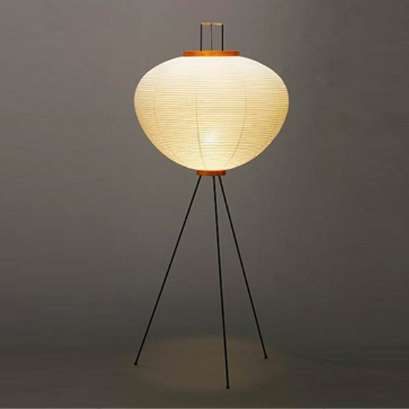 isamu noguchi light sculpture akari 10a floor lamp super. Black Bedroom Furniture Sets. Home Design Ideas