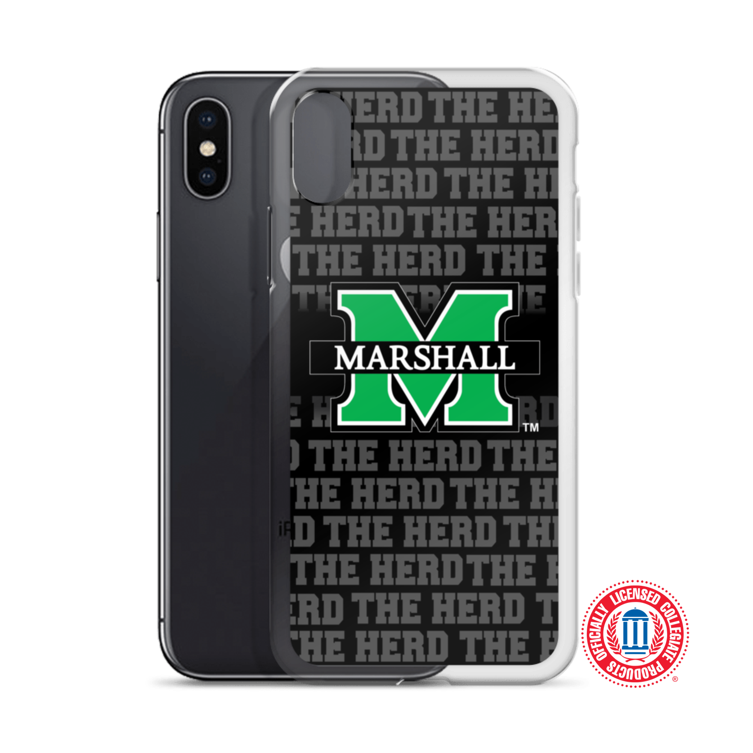 "Image of Marshall University™ ""The Herd"" iPhone Cases (Select model in options)"
