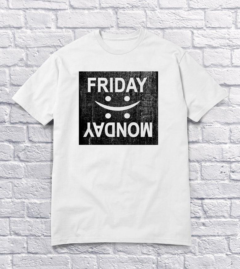 Image of Friday monday hvid