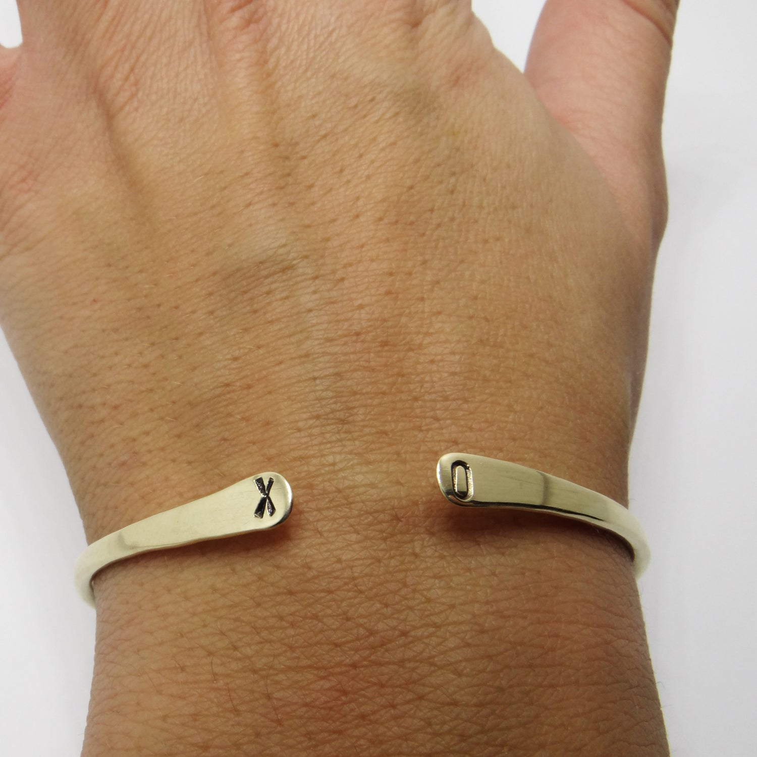 Image of CUSTOM STAMPED BANGLE