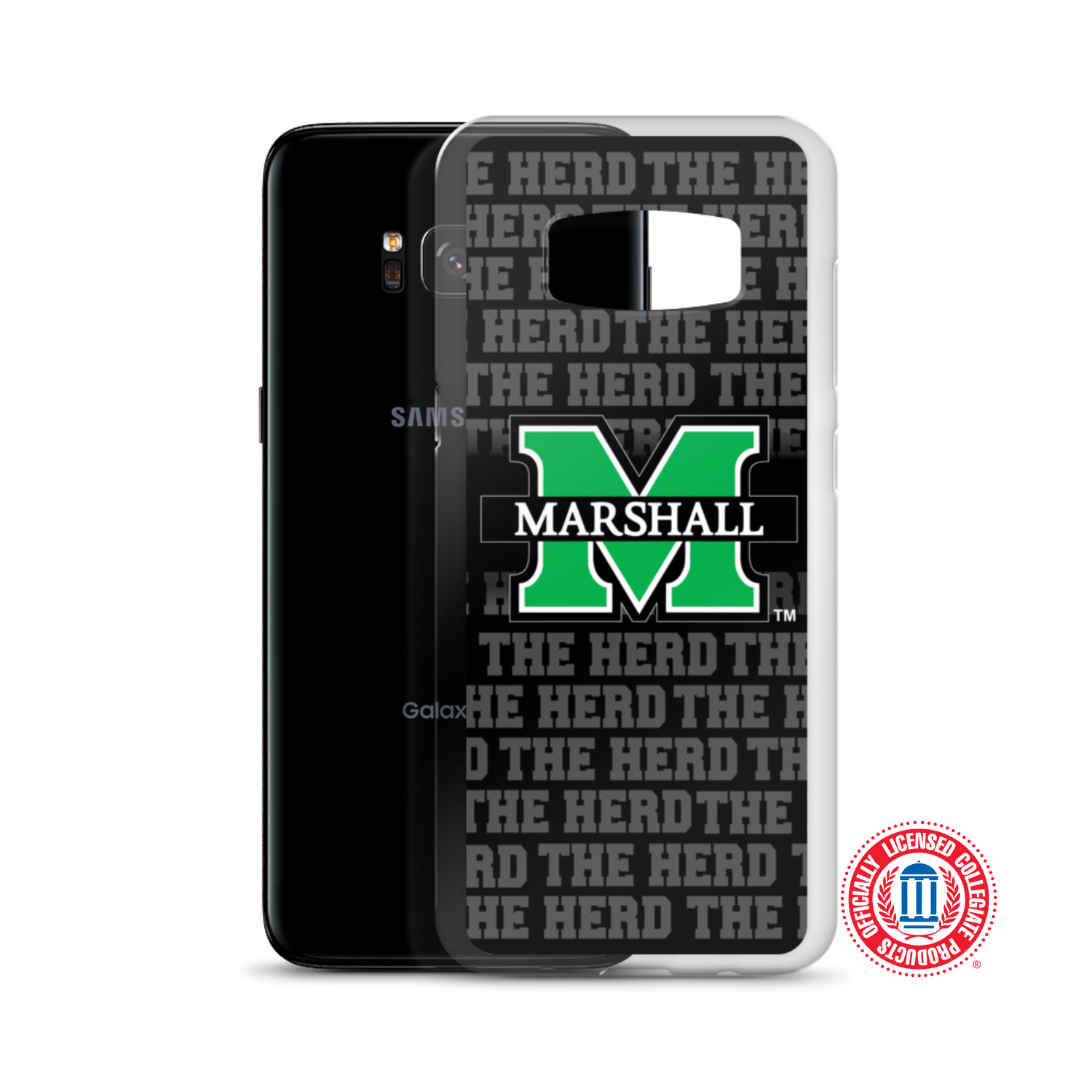 """Image of Marshall University™ """"The Herd"""" Samsung Cases (Select model in options)"""