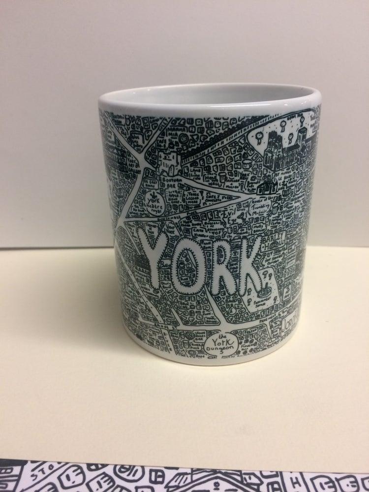 Image of York Doodle Map Mug