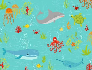 Image of Sea-Life Print from Big Splash