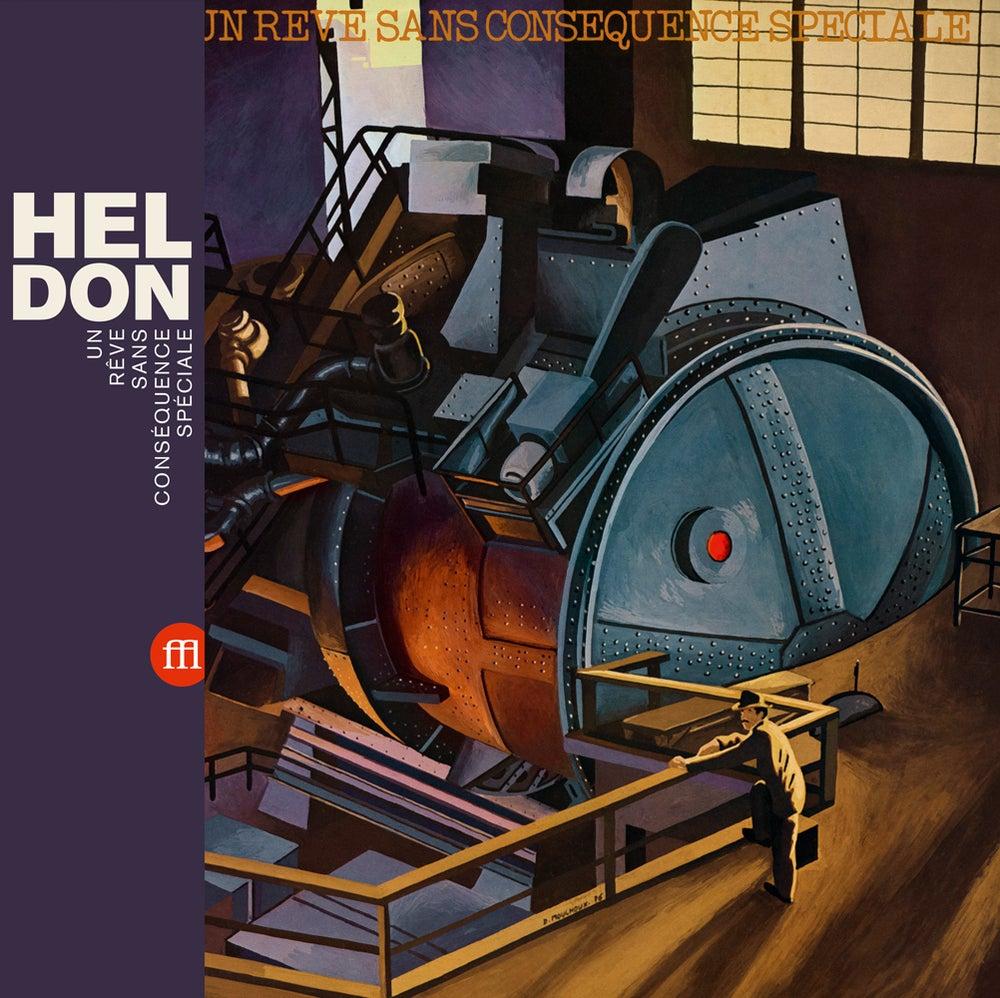 Image of HELDON - Un Rêve Sans Conséquence Spéciale (FFL034 - Clear Purple Vinyl)