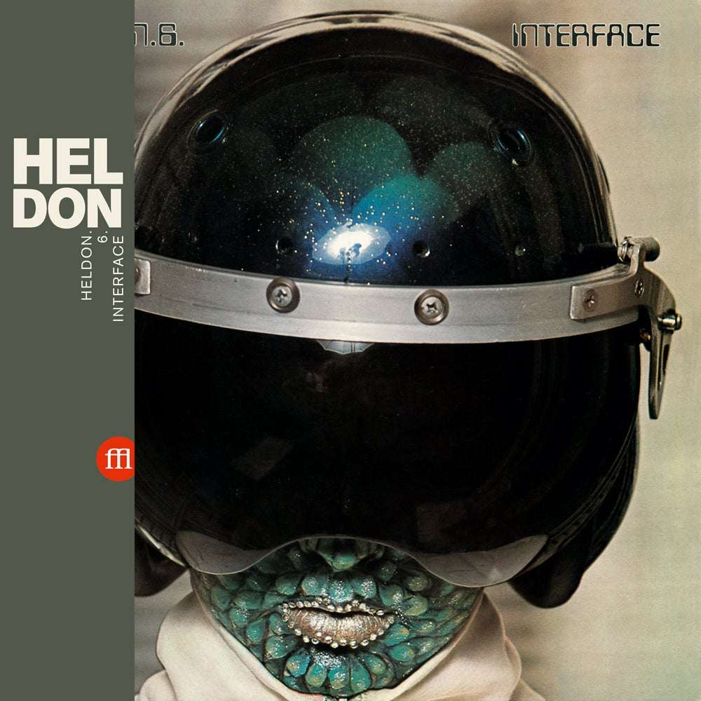 Image of HELDON - Heldon.6.Interface (FFL035 - Swamp Green Vinyl)