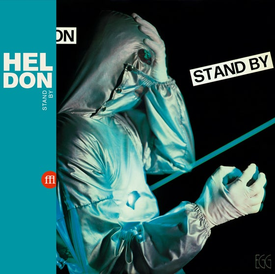 Image of HELDON - Stand By (FFL036 - Sea Blue Vinyl) - PRE ORDER -