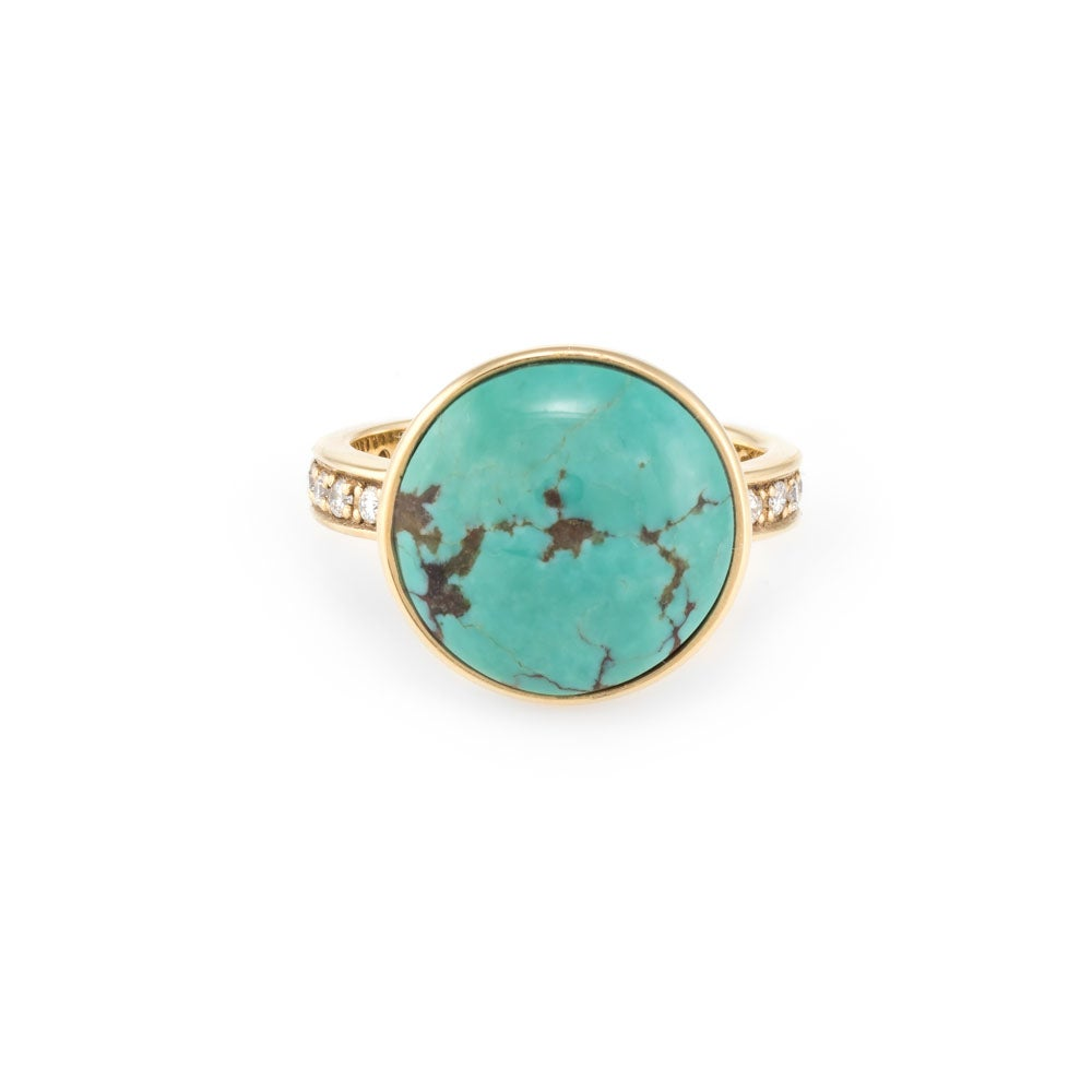 Image of Turquoise Alexander Ring