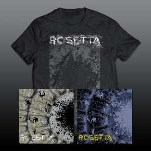 Image of Rosetta - The Galilean Satellites 2xLP Set 1 & Set 2 & T-Shirt Package *Preorder
