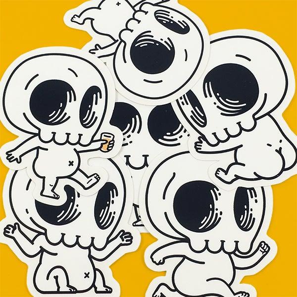 Image of Skully Sticker Pack 2