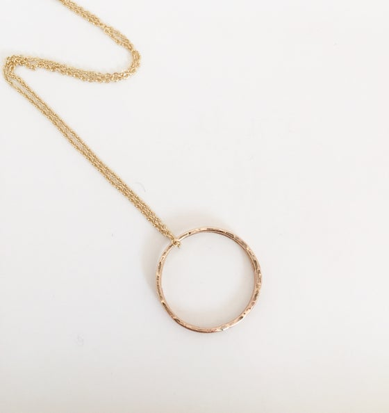 Image of Bella gold necklace