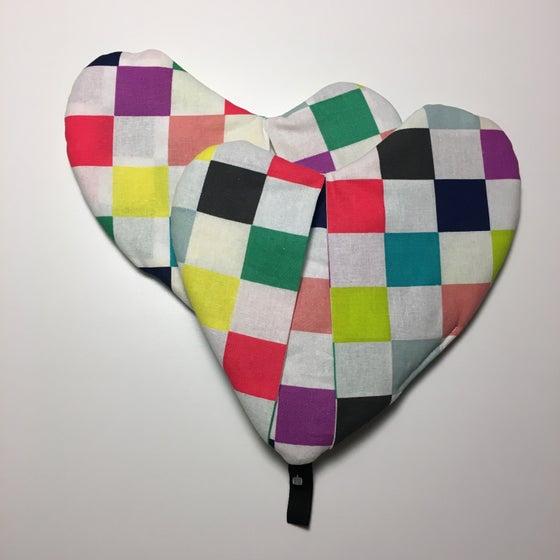 Image of Grydapper med firkanter