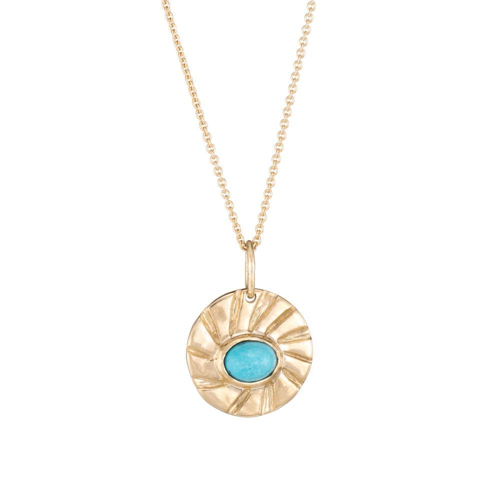 Image of Turquoise Antonia Pendant