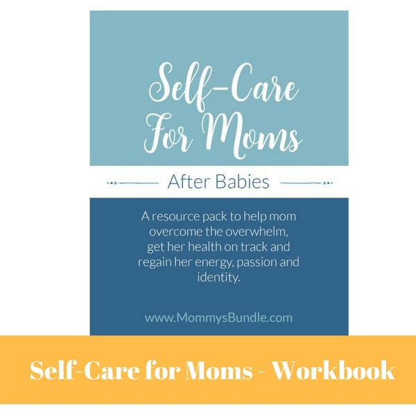 Image of Self-Care for Moms after Babies (Workbook Only - SALE!)