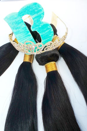 Image of Peruvian Virgin Straight 4 Bundles Deal