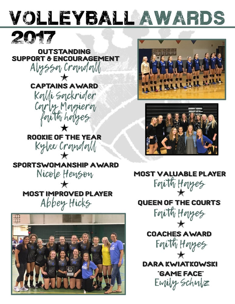 Image of Marine VB Program Pages & Name Banners