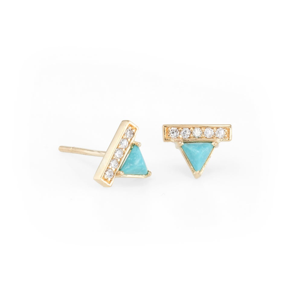 Image of Turquoise Ava Earrings