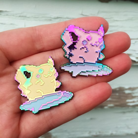 Image of (Black Friday Release) - LE Pastel Rainbow Pika