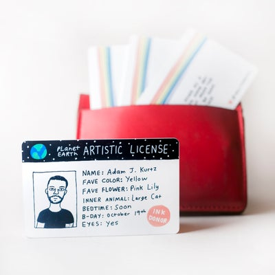 Image of Artistic license - PRE ORDER