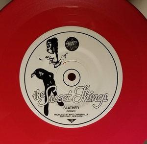 "Image of The Sweet Things ""Slather"" Red Vinyl"