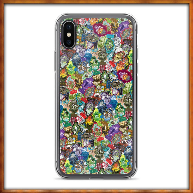 Image of All Over Trees iPhone X Case