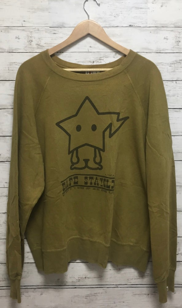 "Image of Bape Japan Baby Milo Store ""Wish on a Sta!"" Crewneck"