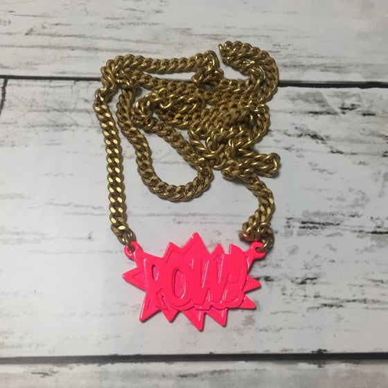 Image of AMBUSH POW! SERIES Chain VINTAGE Neon Pink