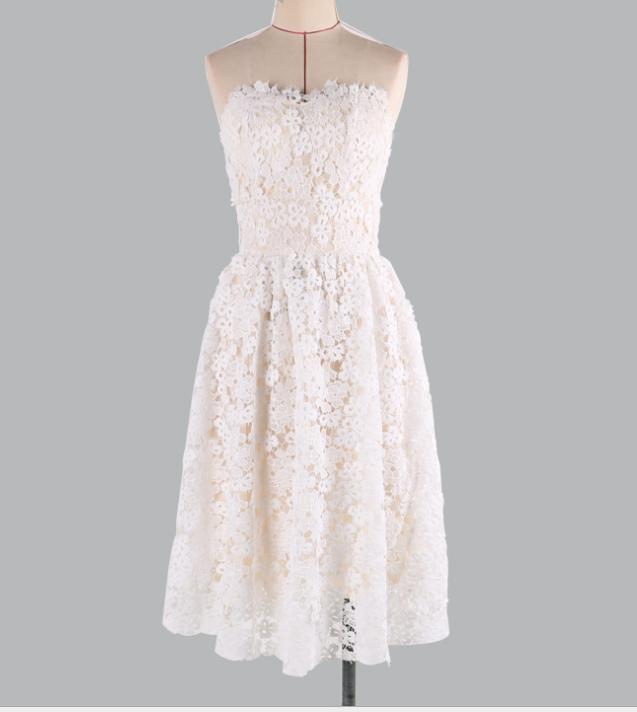 Image of Hot style sexy, sleeveless, sleeveless dress