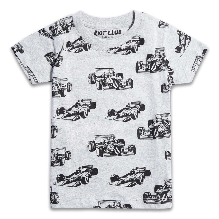 Image of Boys race car tee