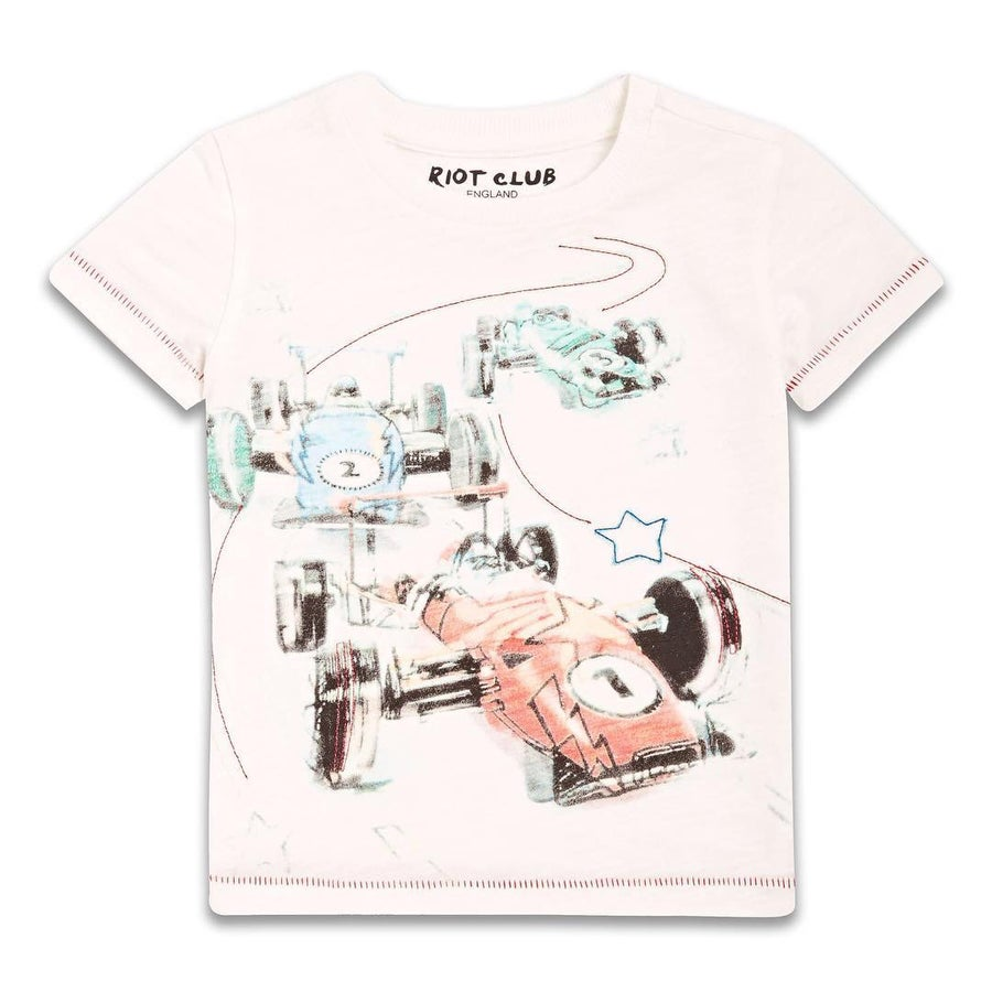 Image of Whit race car tee