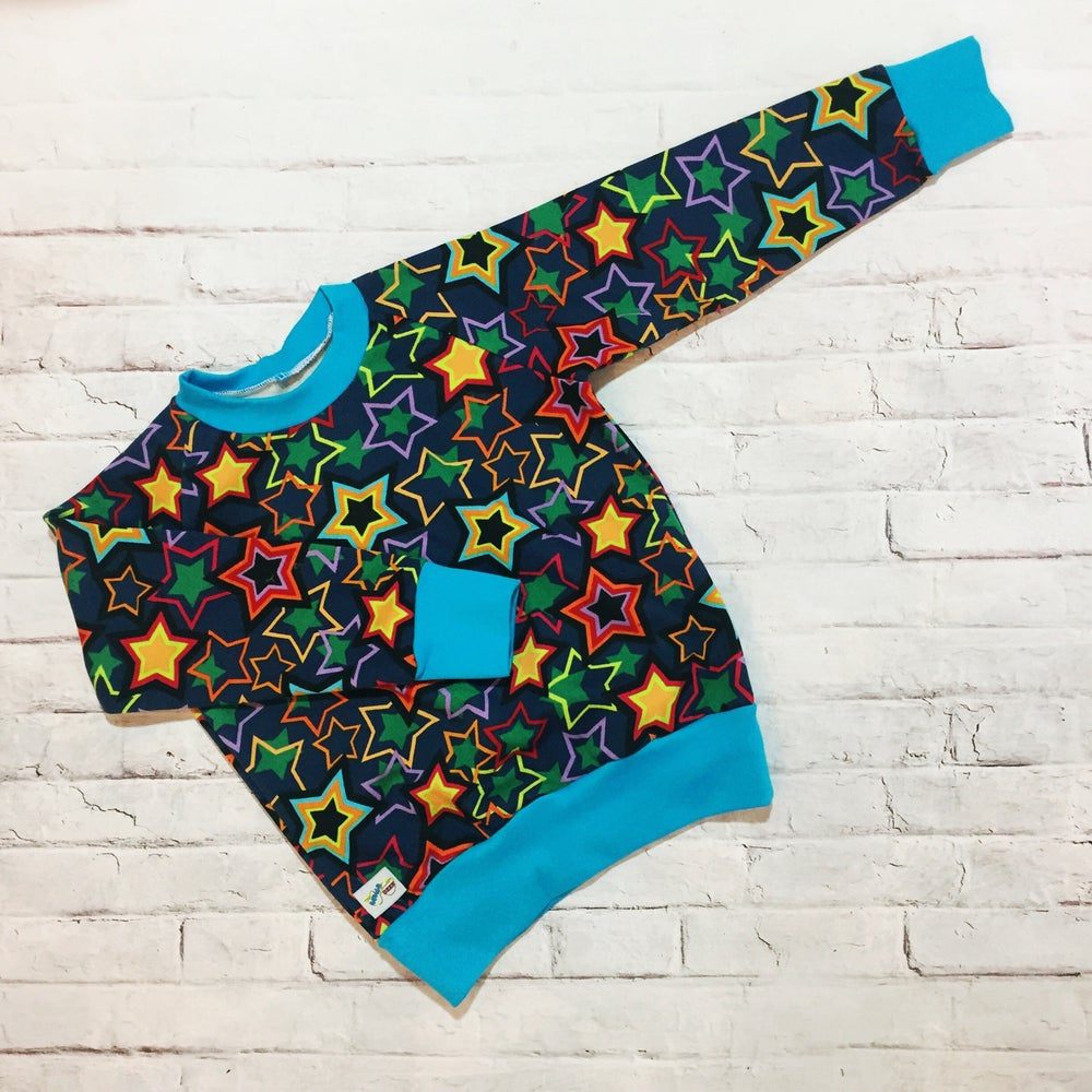 Image of Samson Sweaters Star Print Fleece Sweat