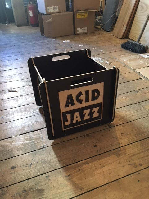 "Image of Acid Jazz 12"" Record Boxes"
