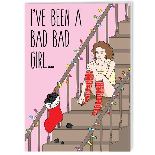 Image of Fiona Apple - 90s Grrrl Holiday Card