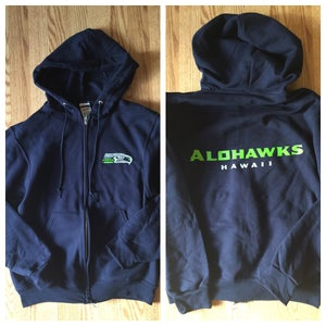 Image of Alohawks Zipper Hoodie